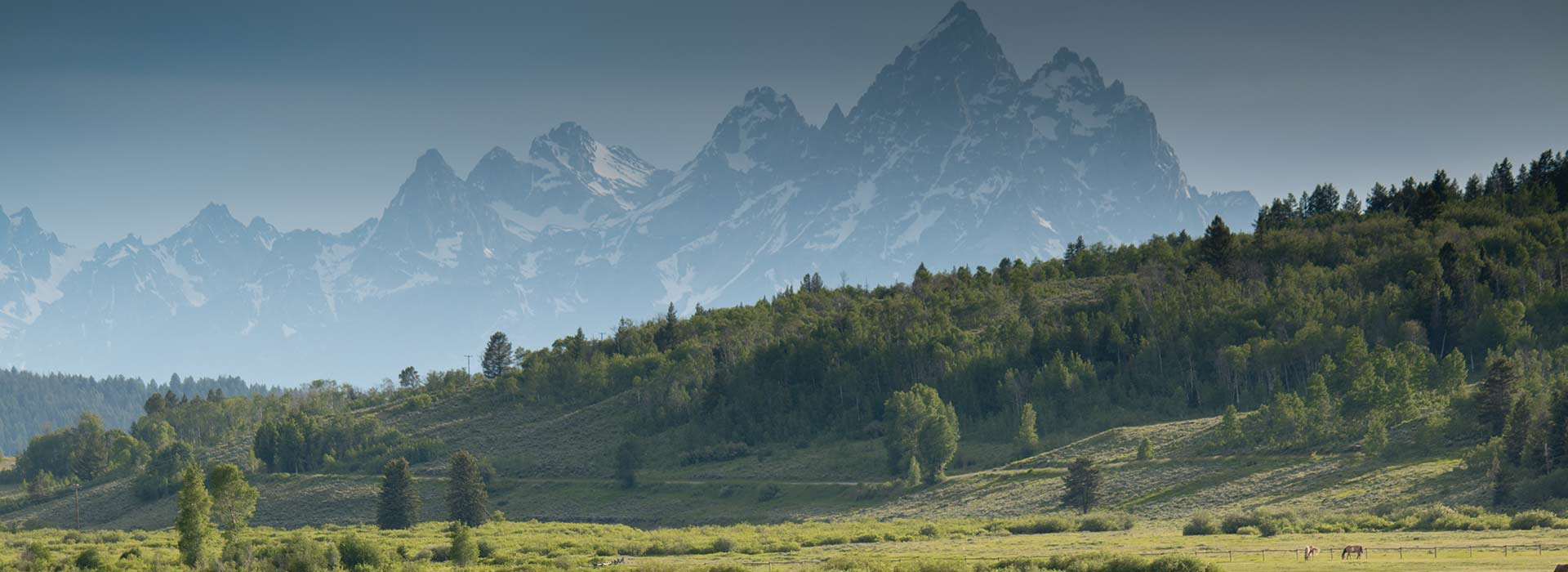 Grand Teton Mountains Wyoming