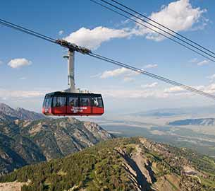 Jackson Hole Mountain Resort sky tram