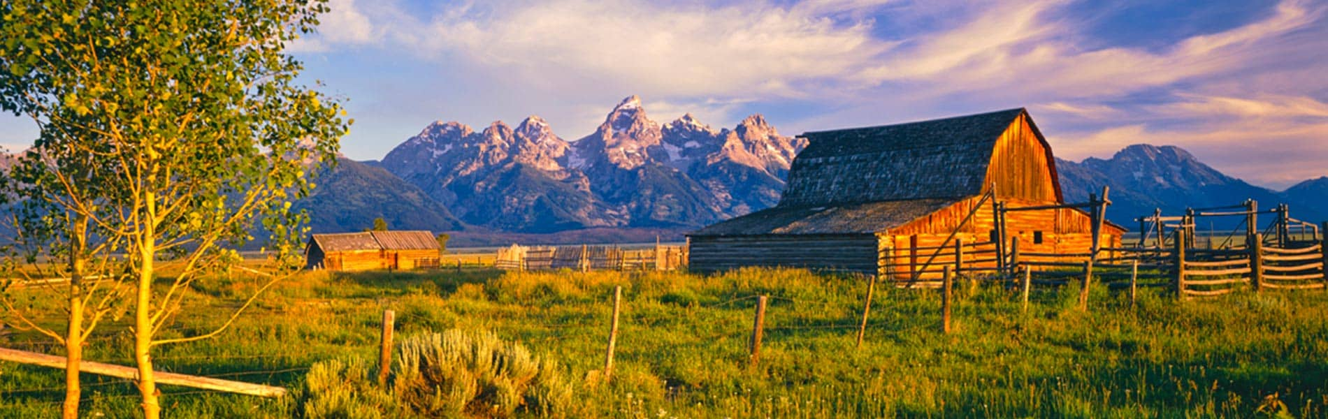 Jackson Hole and mountains