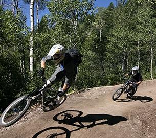 Mountain biking in Jackson Hole