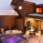 Jackson Hole mountain chalet with jacuzzi