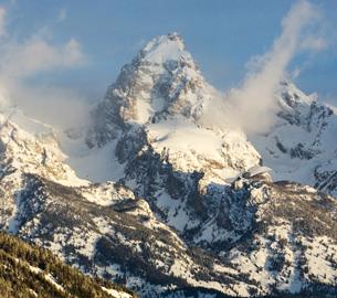 Mountains around Jackson Hole