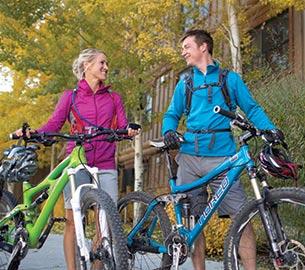 Biking in Jackson Hole