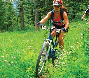 Biking in Jackson Hole and environs