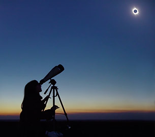 2017 solar eclipse in Jackson Hole