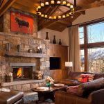 Teton Village private lodge interior