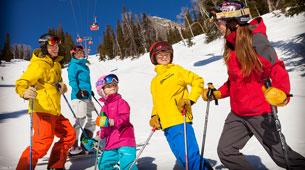 Family ski trip.