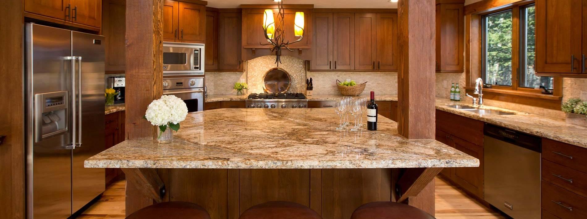 Teton Village rental spacious kitchen