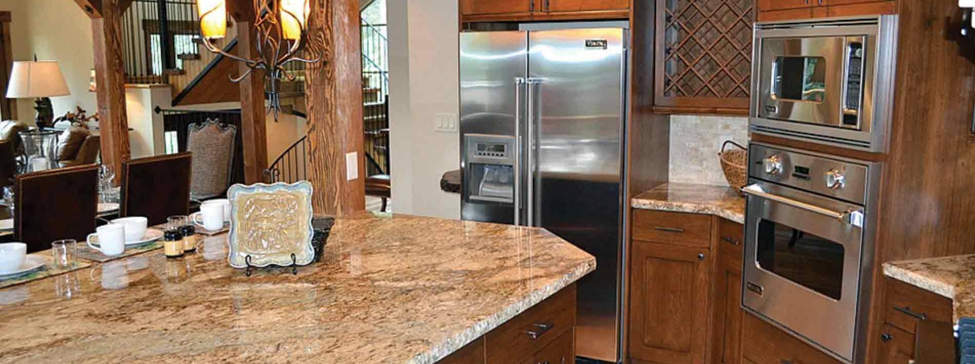 Jackson Hole Blue Moose lodge spacious kitchen