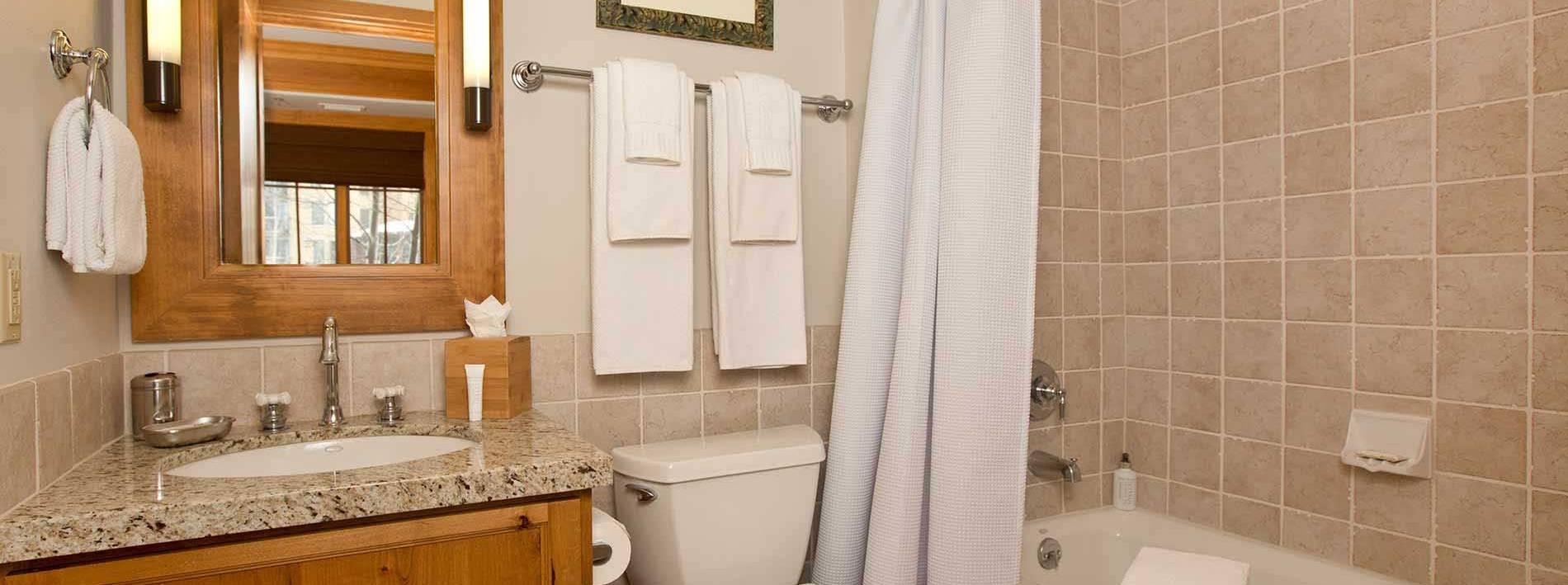 Arrowleaf bathroom